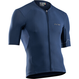 Northwave Extreme 4 Maillot Manches courtes Homme, blue
